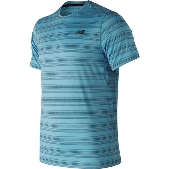 New Balance Mens Anticipate Tee Cadet Blue