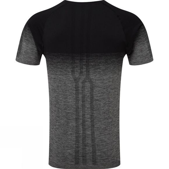 Ronhill Men's Infinity Marathon Short Sleeve Tee Black/Grey Marl