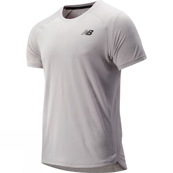 New Balance Men's R.W.T Short Sleeve Tee Overcast