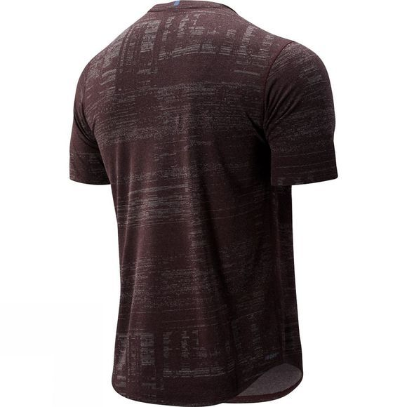 New Balance Men's Q Speed Breathe Short Sleeve Tee Henna
