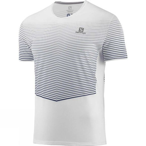 Salomon Sense Tee White/Night Sky