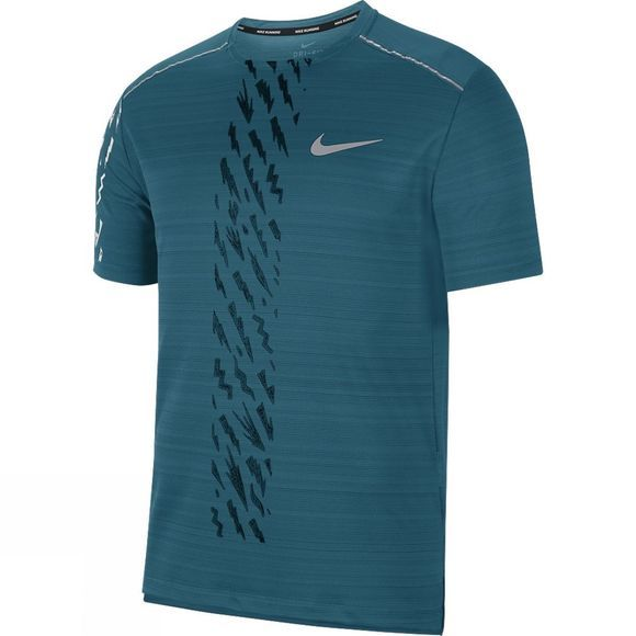 Nike Dry Miler Edge Gx Pro Short Sleeve Bright Spruce/Black