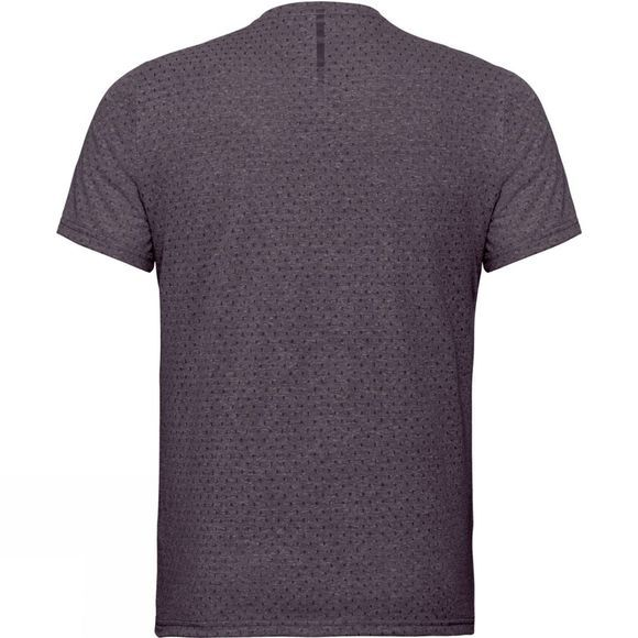 Odlo Mens Millennium T-Shirt Short Sleeve Crew Neck Nightshade Melange