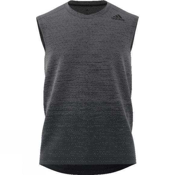 Adidas Mens Gradient Sleeveless Top Grey Four F17/Carbon S18