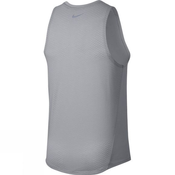 Nike Breathe Rise 365 Running Tank Atmosphere Grey/Htr/Gunsmoke