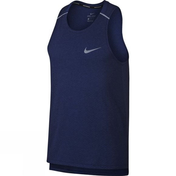 Nike Men's Rise 365 Tank Blue Void