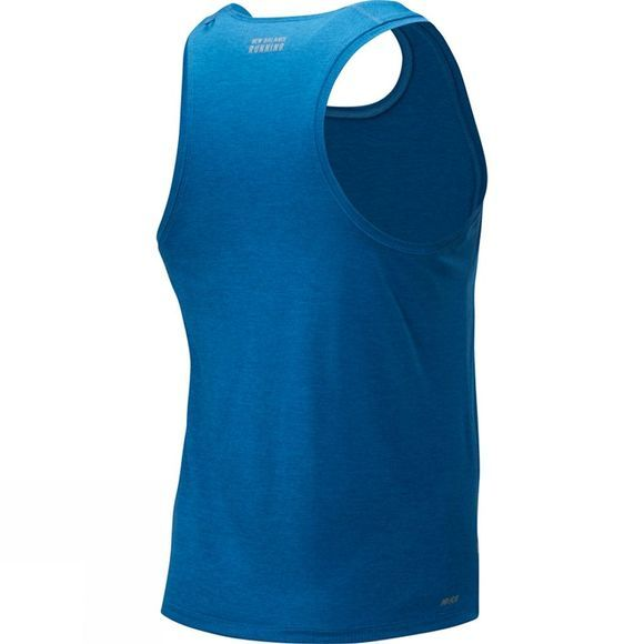 New Balance Impact Run Singlet Mako Blue