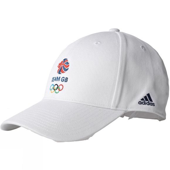 Adidas Team GB Men's Performance Cap White
