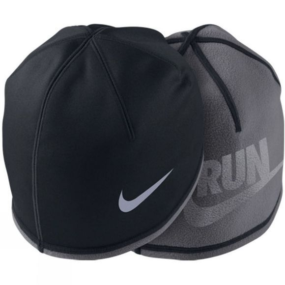 Nike Men's Beanie BLACK/DARK GREY/(REFLECTIVE SILVER