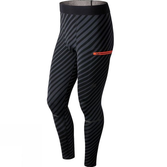 New Balance Men's Precision Run Tight Black