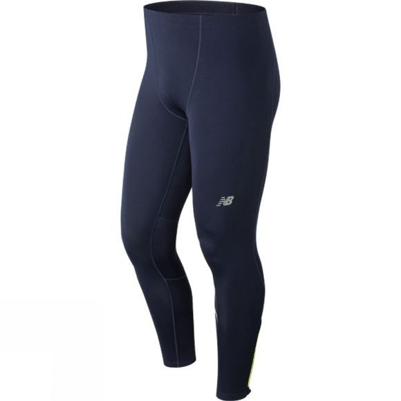 New Balance Mens Printed Impact Tights Pigment