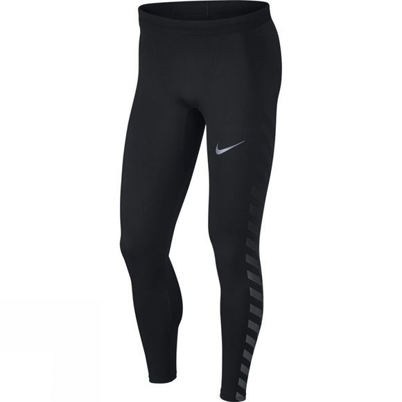 Nike Mens Power Flash Tech Tights Black