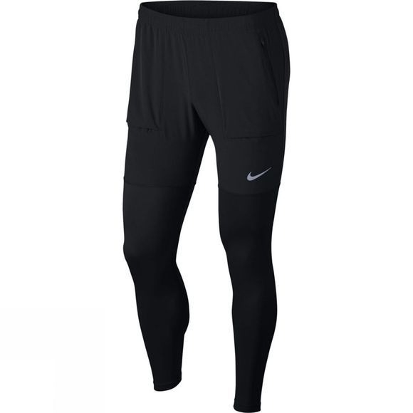 Nike Mens Essentials Hybrid Running Pants Black