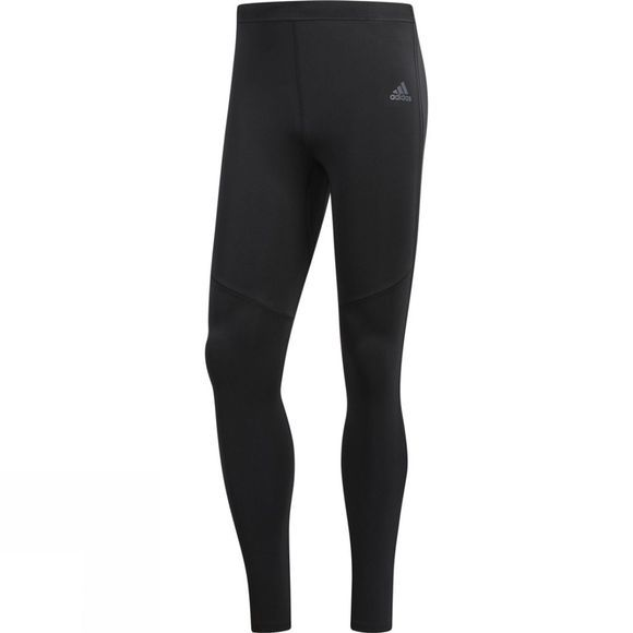 Adidas Mens Response Long Tights Black