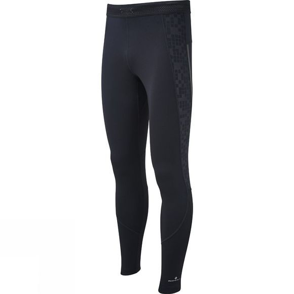Ronhill Mens Stride Stretch Tights All Black