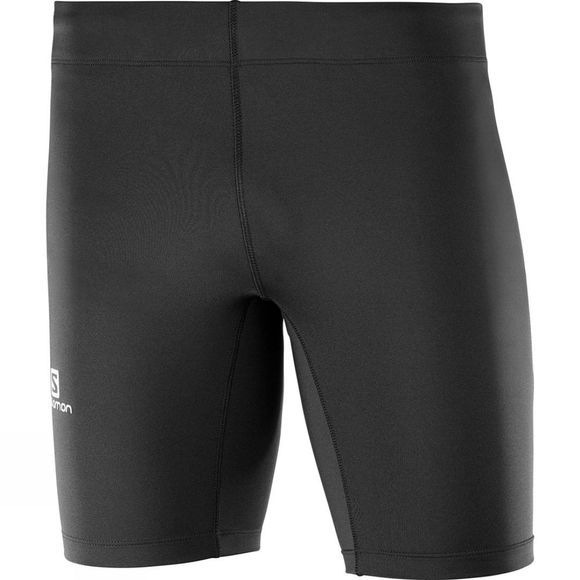 Salomon Mens Agile Short Tight Black