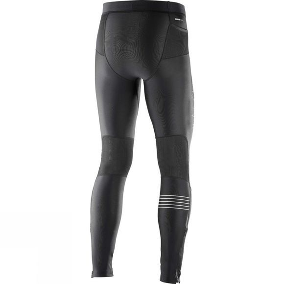 Salomon Mens Fast Wing Long Tight Black
