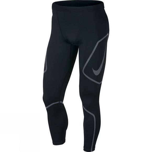 Nike Mens Tech Graphic Running Tights Black