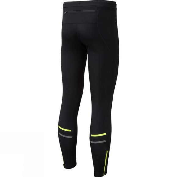 Ronhill Mens Stride Winter Shield Tights Black/Fluo Yellow