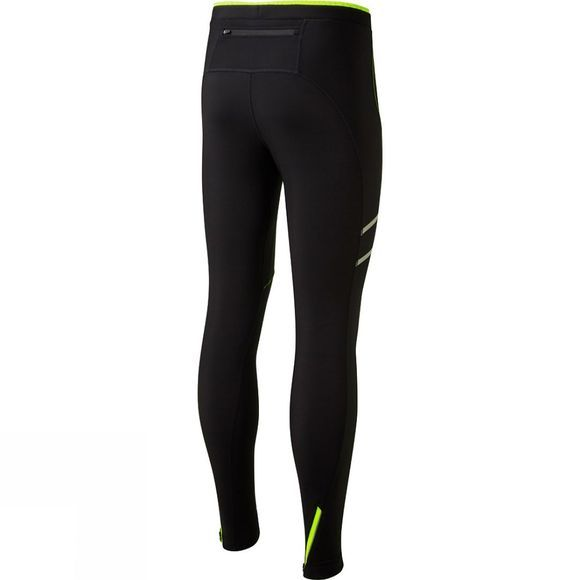 Ronhill Men's Stride Winter Tights Black/Fluo Yellow
