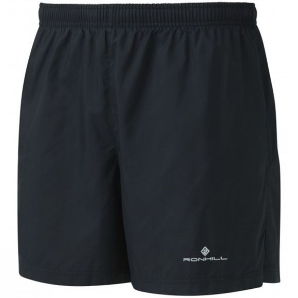 "Ronhill Men's Everyday 5"" Shorts All Black"