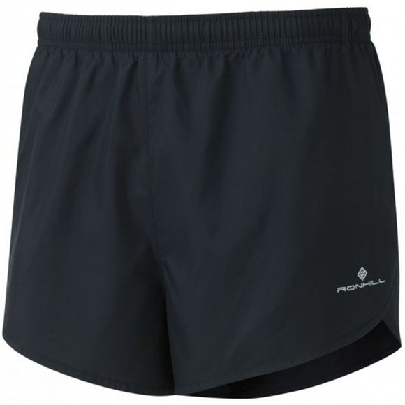 Ronhill Men's Everyday Split Shorts All Black