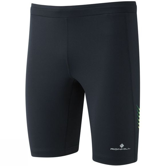 Ronhill Men's Stride Stretch Shorts Black/Forest