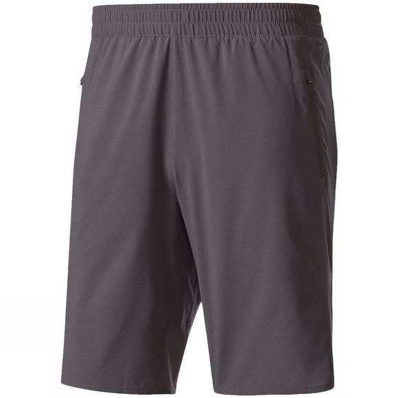 "Adidas Mens Ultra Shorts 9"" Grey Five F15"