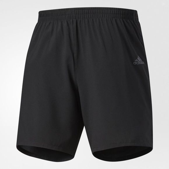 "Adidas Mens Response Shorts 5"" Black"