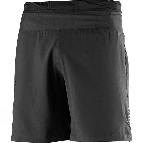 "Salomon Mens Pulse 7"" Shorts Black"