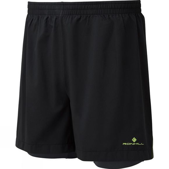 Mens Stride Twin 5in Short
