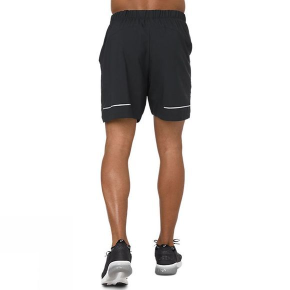 Asics Mens Lite Show 7in Shorts Performance Black