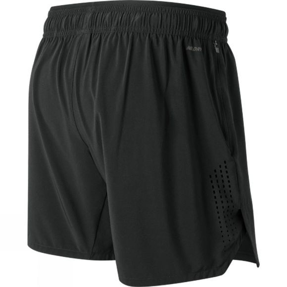 New Balance Mens Transform 2 in 1 Short Black