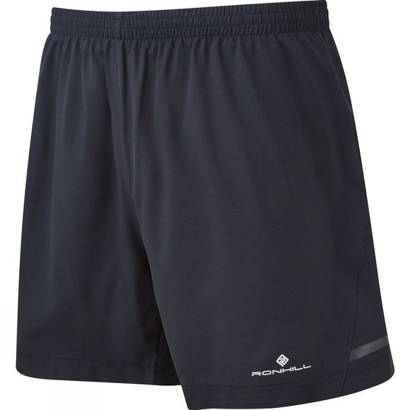 Ronhill Mens Stride 5in Shorts All Black