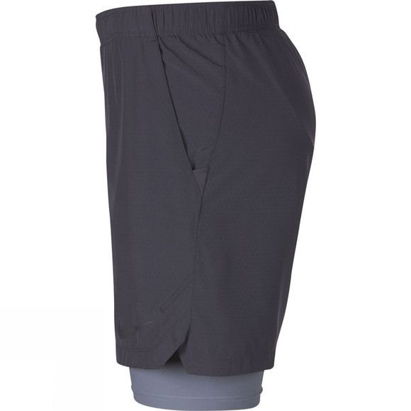 Mens Challenger 7in 2in1 Perferated Short