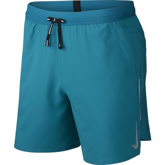 "Nike Mens Dri-FIT Flex Stride 7"" Running Shorts Bright Spruce"