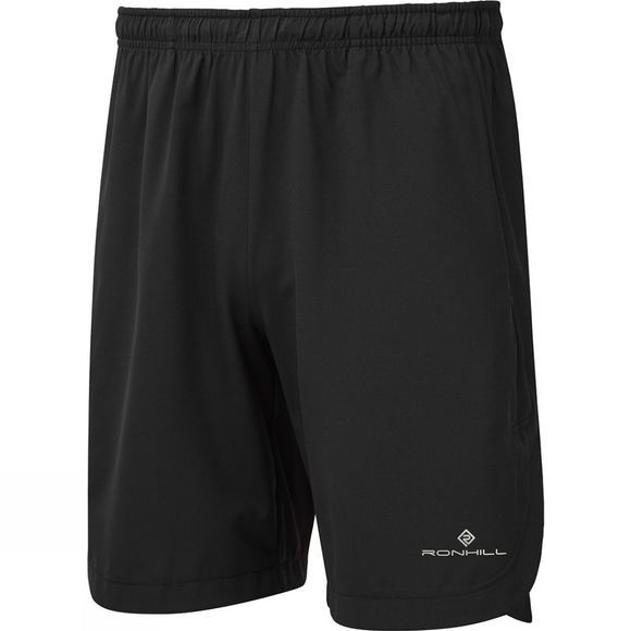 "Ronhill Men's Momentum 9"" Short All Black"