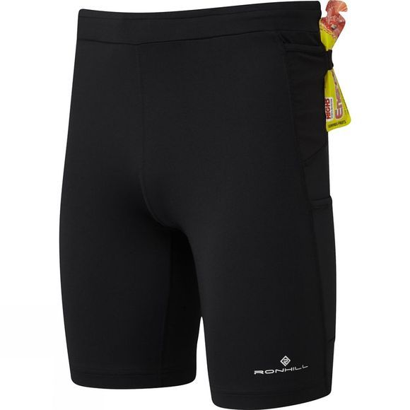 Ronhill Men's Infinity Marathon Short All Black