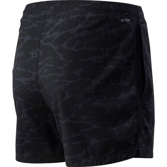 New Balance Men's Accelerate 5in Short Black Camo
