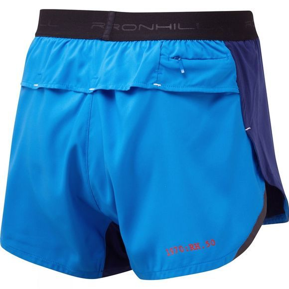 Ronhill Stride Revive Racer Short Electric Blue/Mid Blue