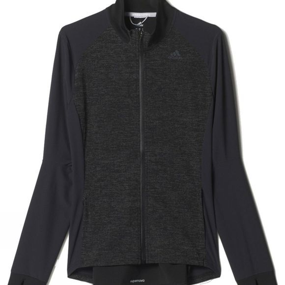 Adidas Women's Supernova Storm Jacket BLACK