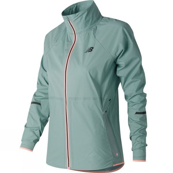 New Balance Women's Precision Run Jacket  Storm Blue