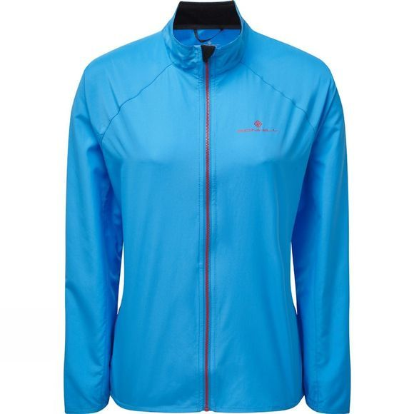 Ronhill Women's Everyday Jacket Sky Blue/Cherryade