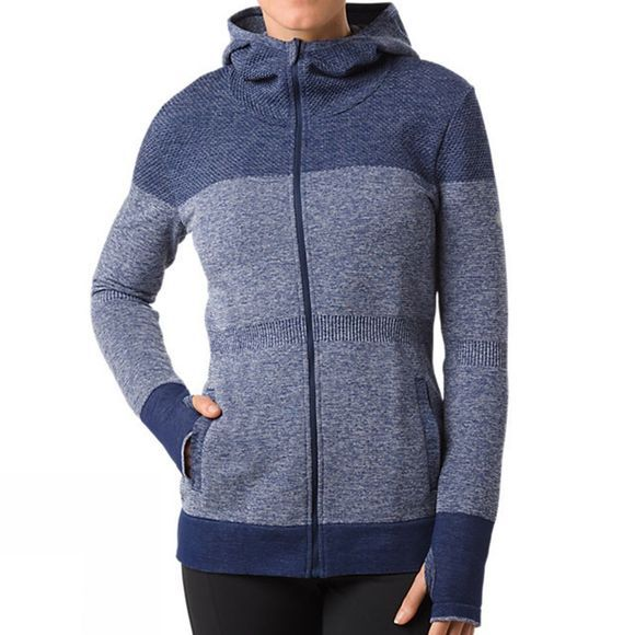 Asics Womens Seamless Jacket Indigo Blue