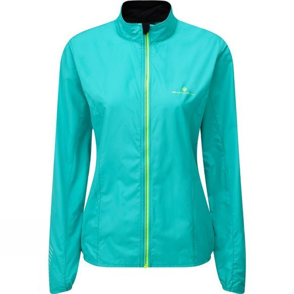 Ronhill Womens Stride Windspeed Jacket Jade/Mist