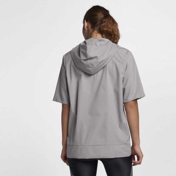Nike Womens Flex Running Hooded Jacket Atmosphere Grey