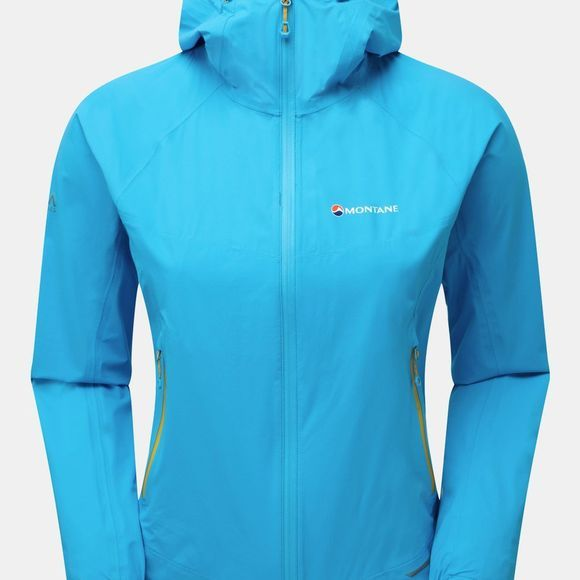 Montane Womens Minimus Stretch Ultra Jacket Cerulean Blue