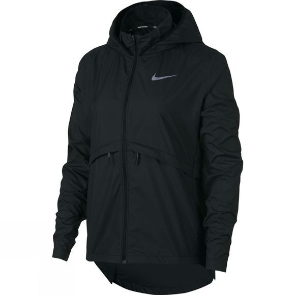 Nike Women's Hooded Running Jacket Black