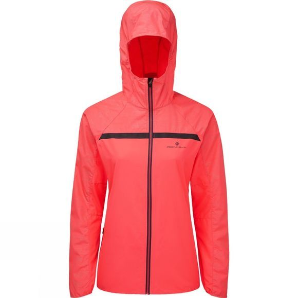 Ronhill Womens Momentum Afterlight Jacket Hot Pink/Reflect
