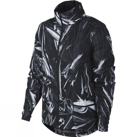 Nike Women's Shield Jacket Black/White